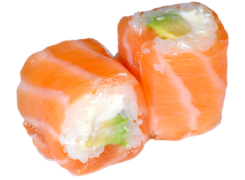 Saumon Roll Saumon Cheese avocat