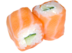 Saumon Roll Saumon Cheese concombre