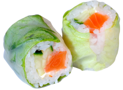 Roll Up Saumon spicy