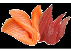 Sashimi Thon et Saumon