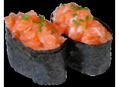 Sushi Tartare de saumon