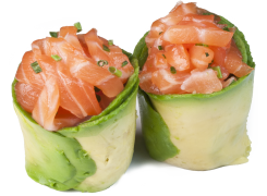 Sushi Tulipe (tartare de saumon)